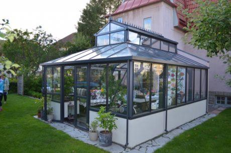 Orangeri Special murmodell från Classicum växthus