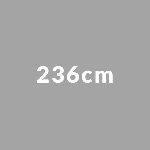 236cm
