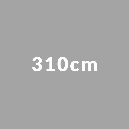 310cm