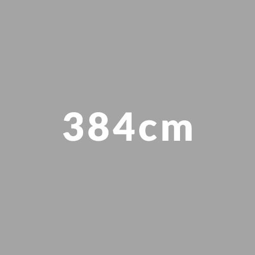 384cm